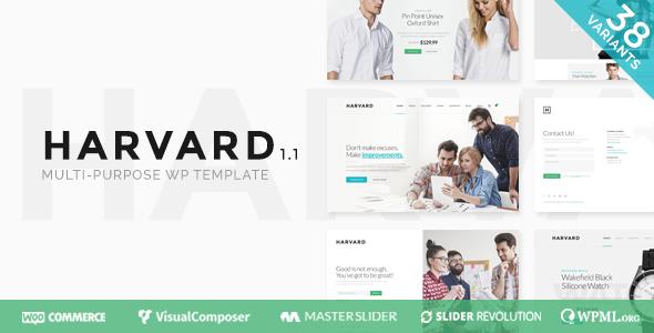 Harvard | Responsive Multi-Purpose Theme - Business Corporate