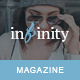 Infinity - Your Lifestyle News Theme Nulled
