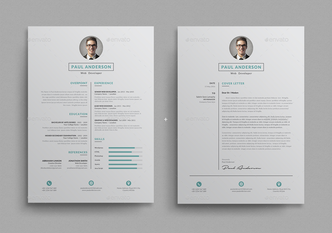 Resume by themedevisers | GraphicRiver