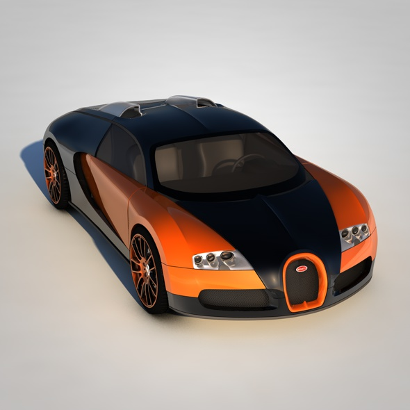 Bugatti Veyron 16.4 - 3DOcean Item for Sale