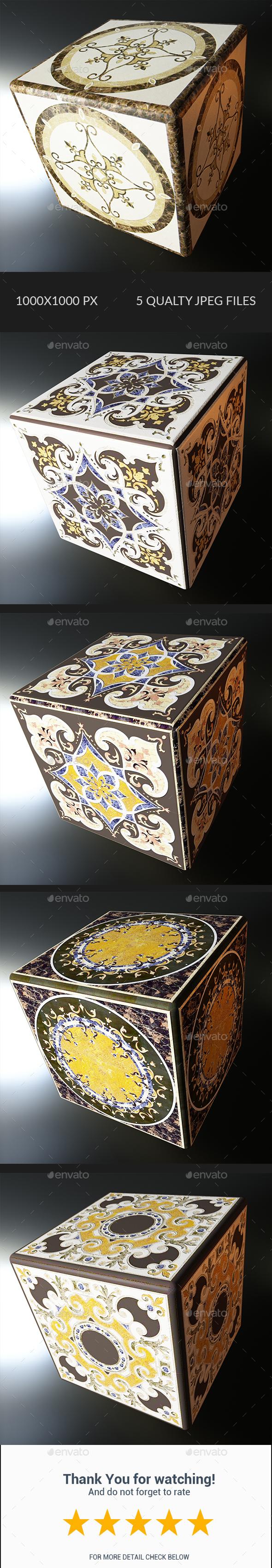 Decorative Texture - Vol 001 - 3DOcean Item for Sale