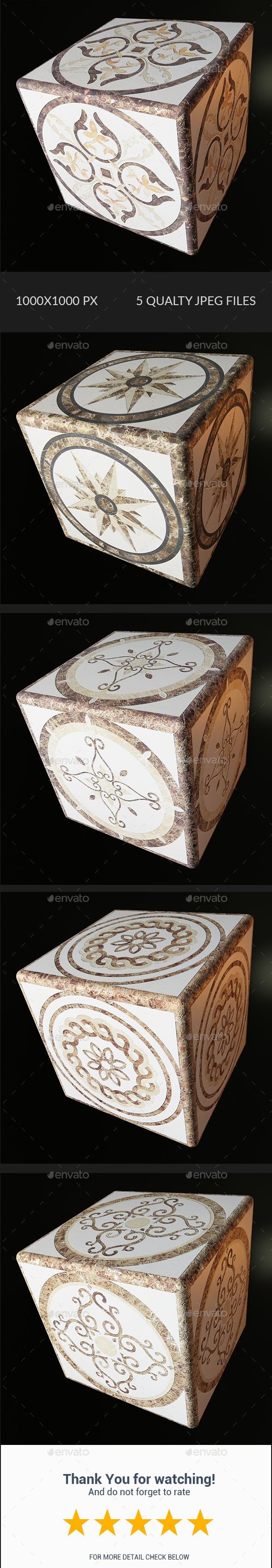 Decorative Texture - Vol 003 - 3DOcean Item for Sale