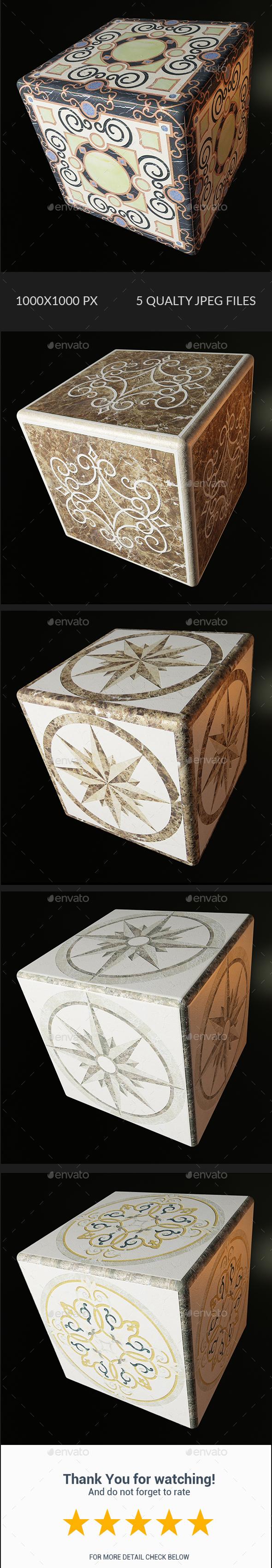 Decorative Texture - Vol 004 - 3DOcean Item for Sale