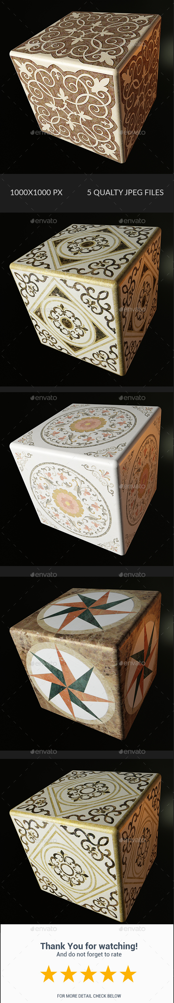 Decorative Texture - Vol 005 - 3DOcean Item for Sale