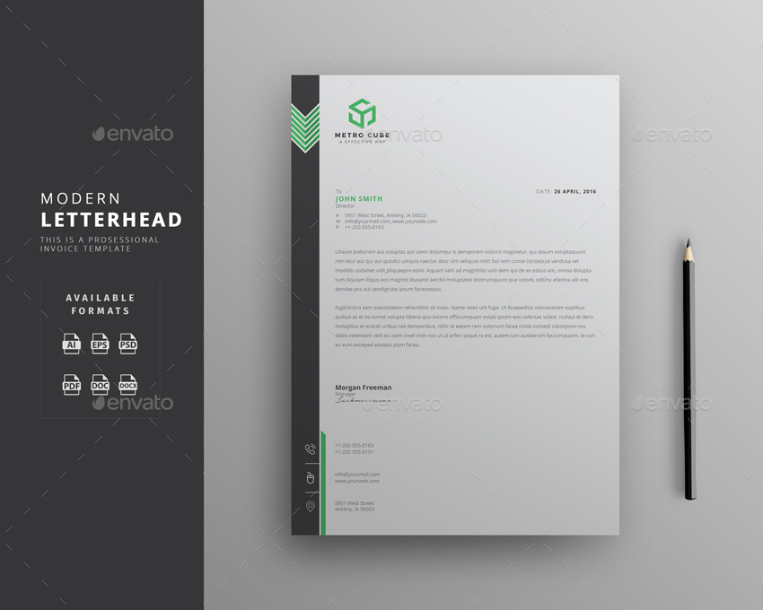 Letterhead By Themedevisers
