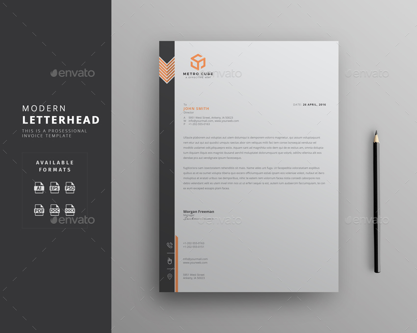 Letterhead by themedevisers | GraphicRiver