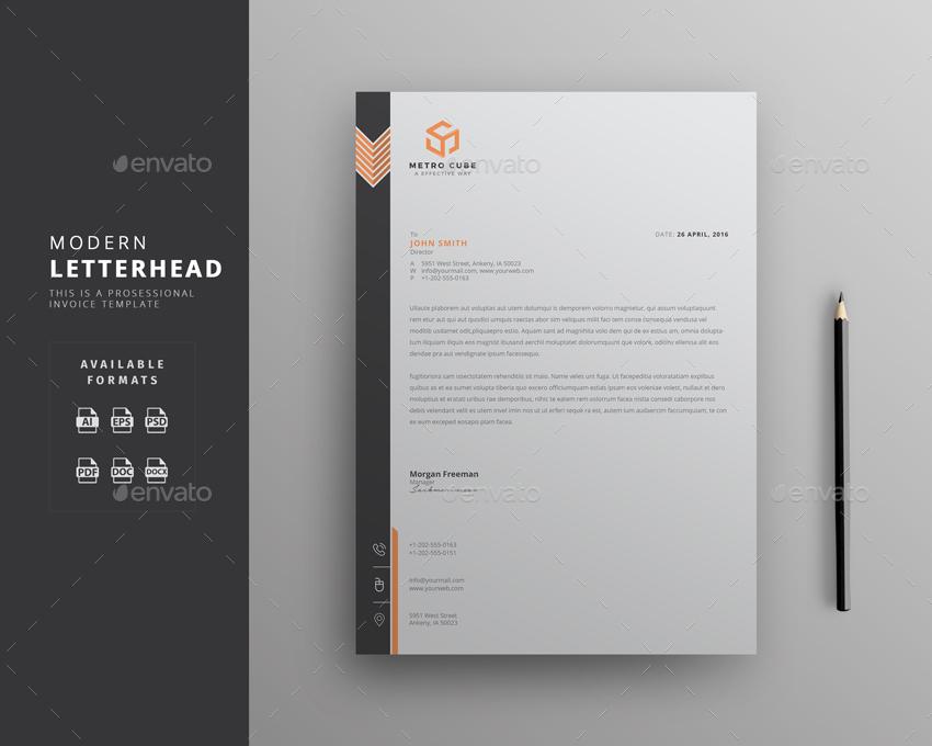 Letterhead design template gidiyedformapolitica letterhead design template spiritdancerdesigns Gallery
