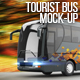 Tourist Bus Mock-Up - GraphicRiver Item for Sale