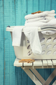 Laundry basket with towels - PhotoDune Item for Sale