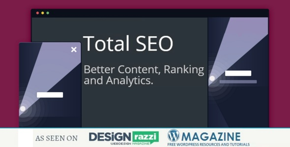 Total SEO for WordPress - CodeCanyon Item for Sale