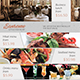 Sanremo Restaurant Flyer Template - GraphicRiver Item for Sale