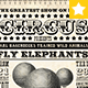 Circus Vintage Poster - GraphicRiver Item for Sale