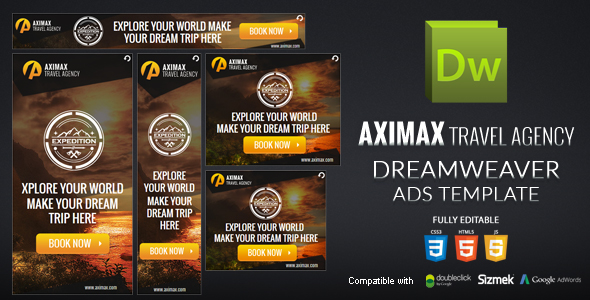 HTML5 Banner Dreamweaver Template v2  - CodeCanyon Item for Sale