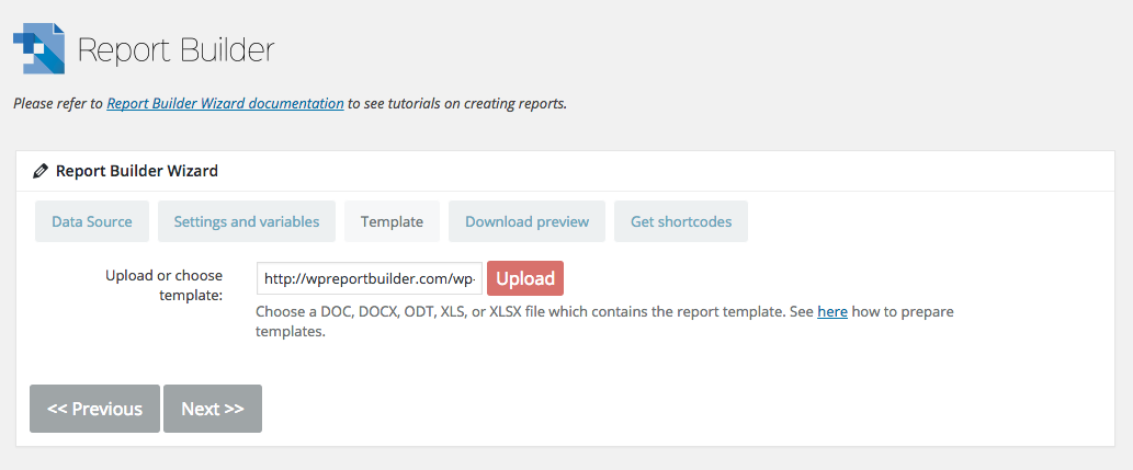Report Builder add-on for wpDataTables - Generate Word DOCX and ...