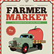 Farmer Market Event Flyer