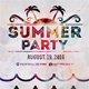 Bright Summer Party Poster Template - GraphicRiver Item for Sale
