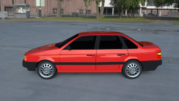 Volkswagen Passat B3 HDRI - 3DOcean Item for Sale