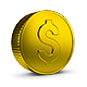 Golden Coin - GraphicRiver Item for Sale