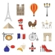 Download Vector   France Icons Set
