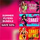 Summer Flyers Bundle V2 - GraphicRiver Item for Sale