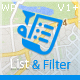 Progress Map, List & Filter - WordPress Plugin
