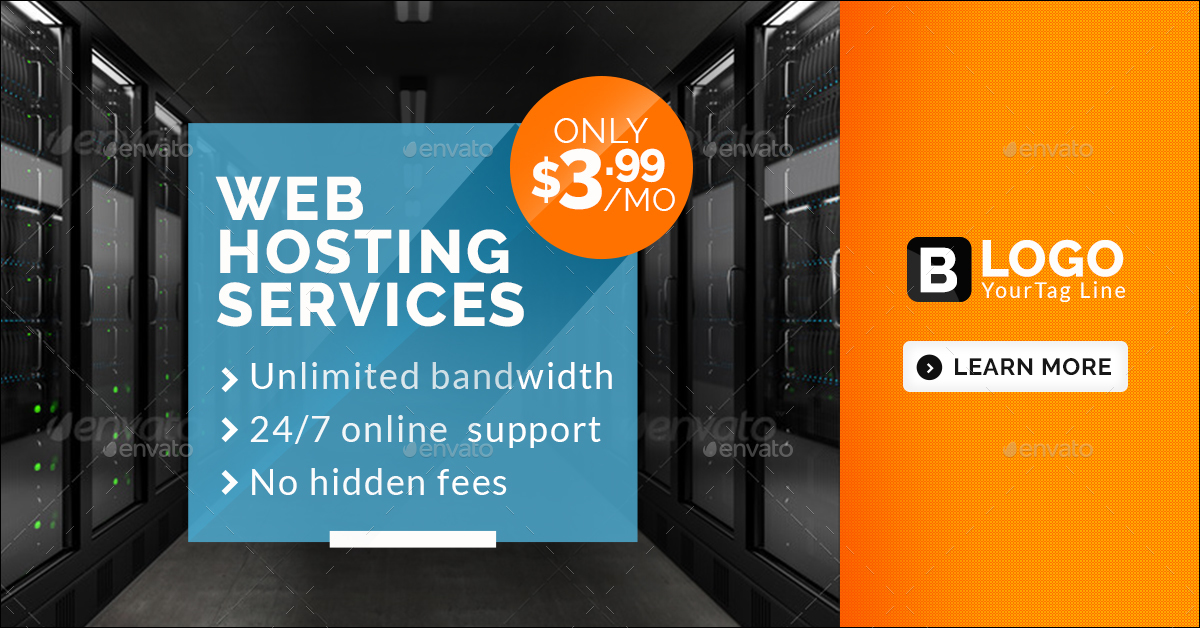 Web Hosting Banners by doto | GraphicRiver