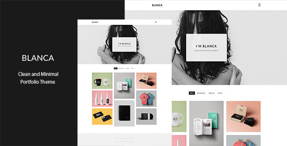 Blanca – Clean and Minimal Portfolio Theme