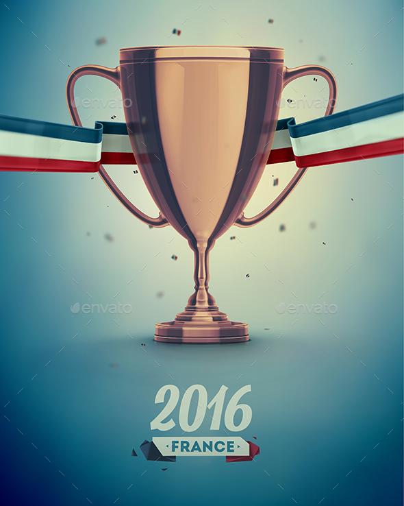 Soccer Cup - Sports/Activity Conceptual