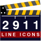Set of 2911 Line Icons - GraphicRiver Item for Sale