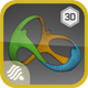Rio 2016 Olympics Logo - 3DOcean Item for Sale