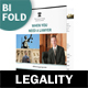 Legality Bifold / Halffold Brochure - GraphicRiver Item for Sale