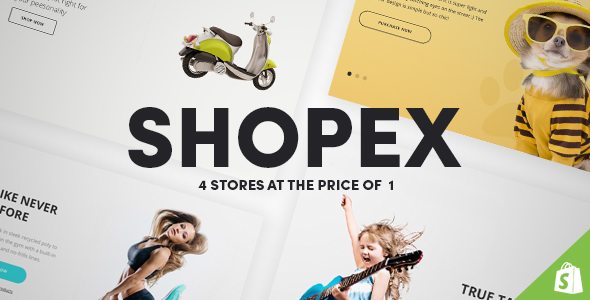 Image of Shopex - Responsive Shopify Theme