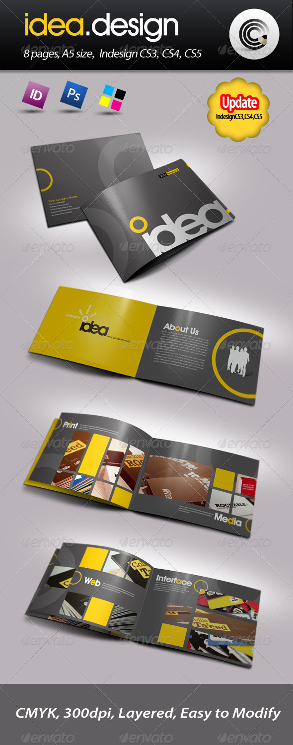 Idea Design Booklet - Corporate Brochures