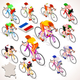 Cyclist Tour de France Isometric People - GraphicRiver Item for Sale