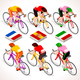 Winner Cyclist Tour de France Giro di Italia Vuelta de Espana - GraphicRiver Item for Sale