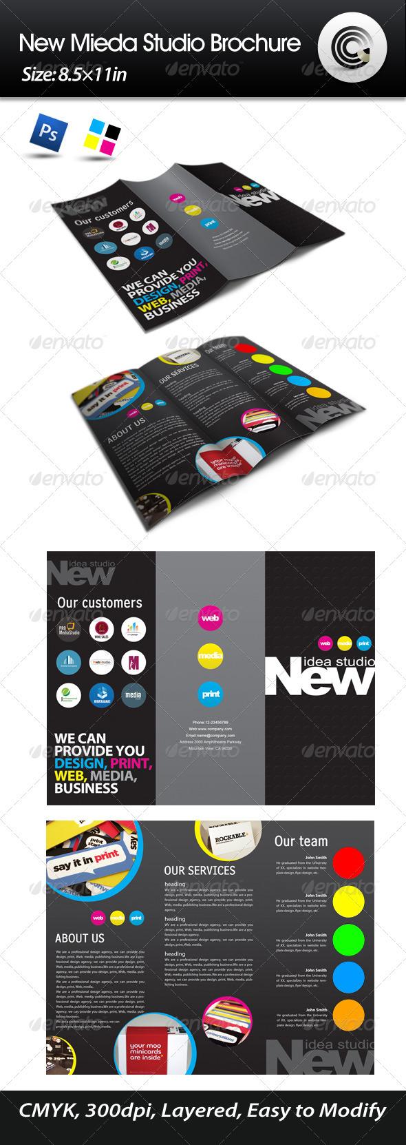New Media Studio Brochure - Corporate Brochures