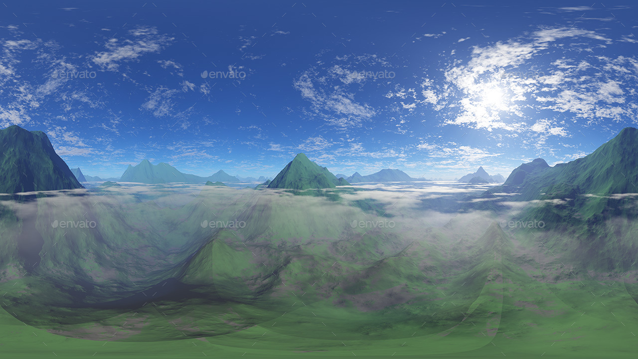 Mountains Skybox Pack Vol II
