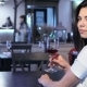Girl Poses At The Restaurant - VideoHive Item for Sale