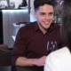 Man Tells Something To His Woman At The Restaurant - VideoHive Item for Sale
