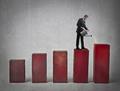 Businessman ascending - PhotoDune Item for Sale
