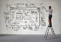 Man designing a website - PhotoDune Item for Sale