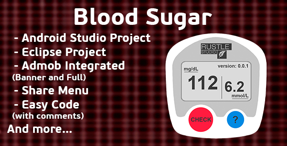 Finger Blood Sugar Prank + Admob (Android Studio + Eclipse) - CodeCanyon Item for Sale