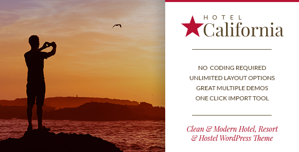 Hotel California – Hotel & Hostel Theme