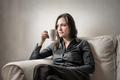 Woman drinking tea - PhotoDune Item for Sale