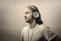 Man with headphones - PhotoDune Item for Sale