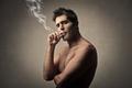Man smoking - PhotoDune Item for Sale