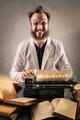 Man with typewriter - PhotoDune Item for Sale