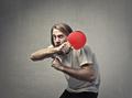 Man playing ping pong - PhotoDune Item for Sale