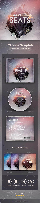 Modern Beats CD Cover Artwork