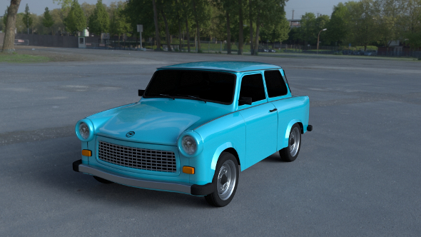 Trabant 601 HDRI - 3DOcean Item for Sale